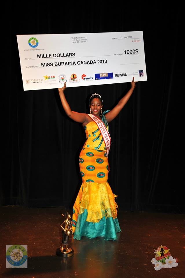 miss burkina canada facebook